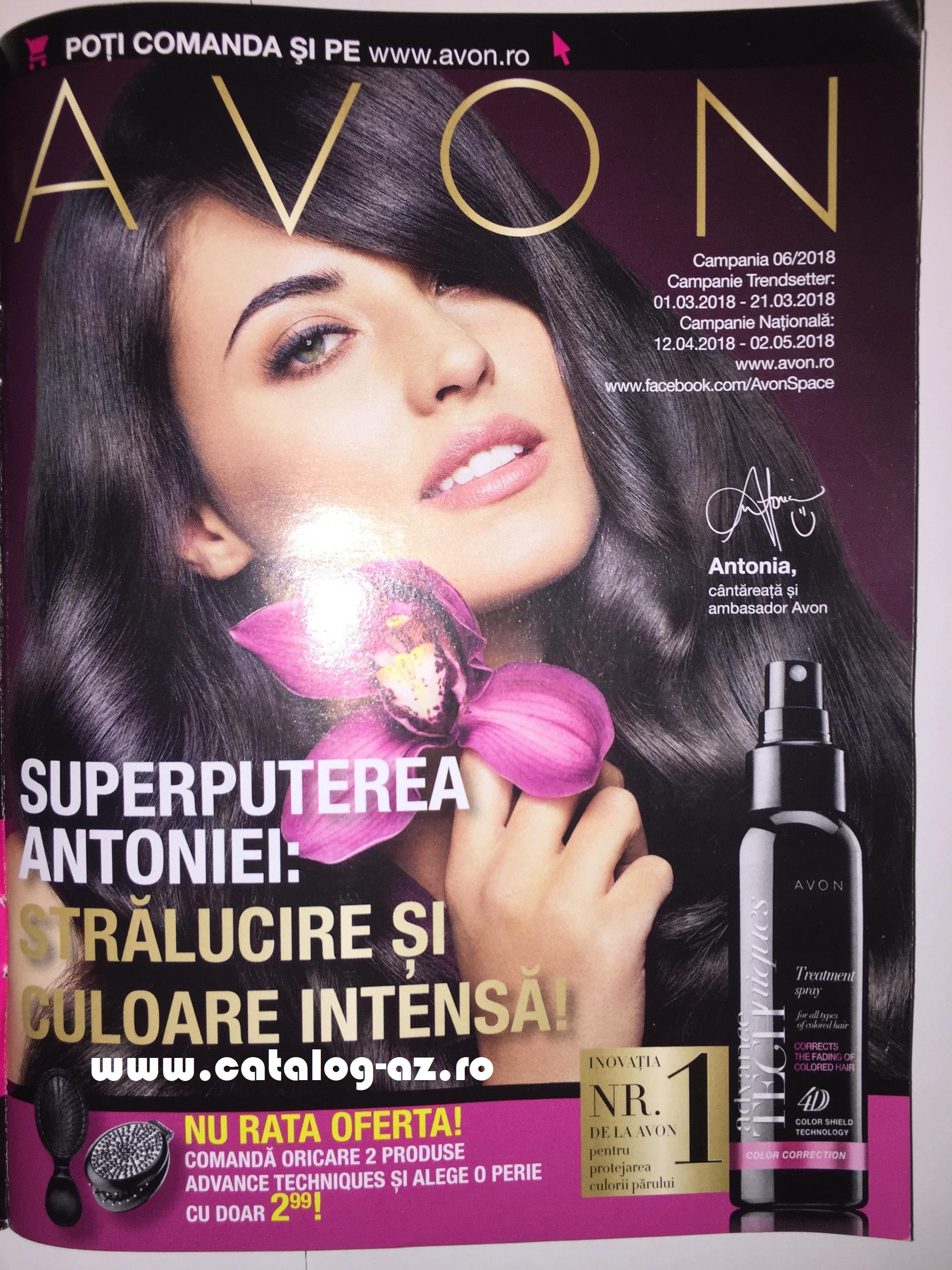 Catalog Avon Campania 6 2018 Brosura C6 Avon Cosmetice