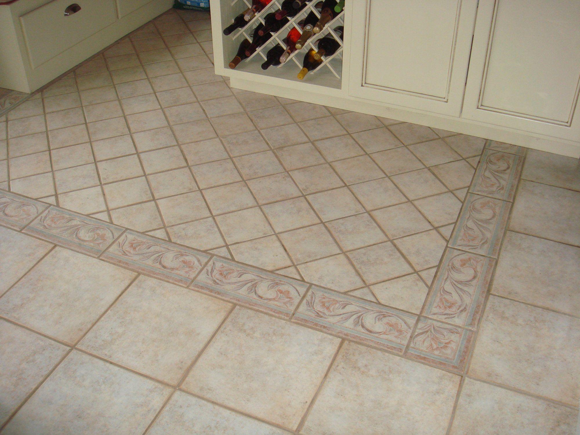 Painting Kitchen Floor Tiles Diy Ceramic Tile Floor