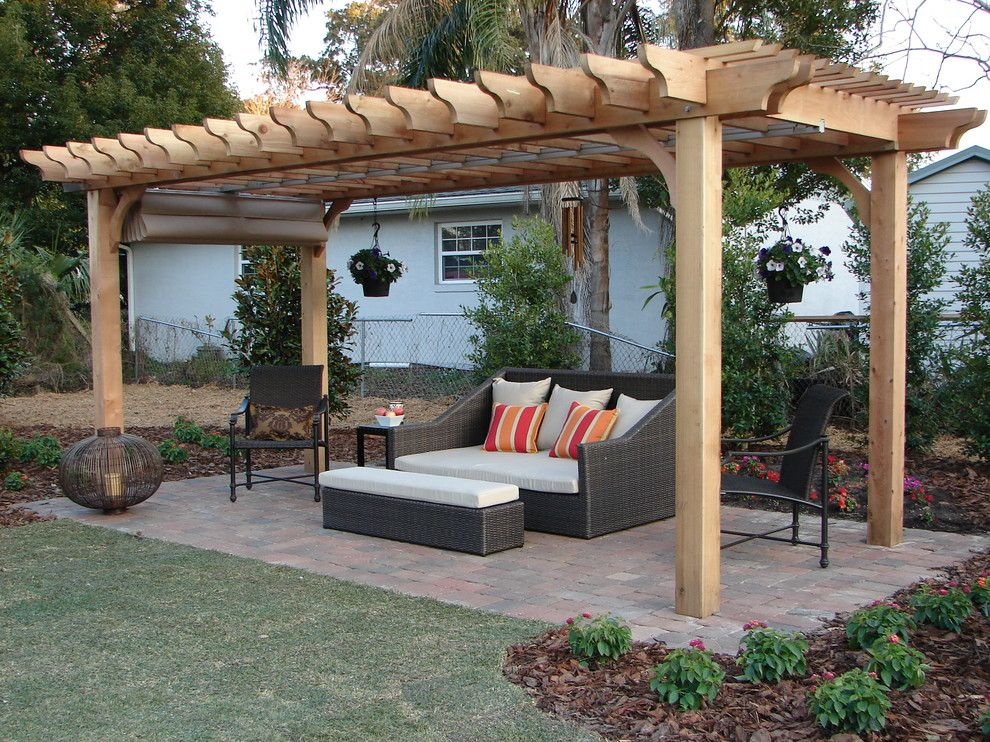 patio trellis ideas
