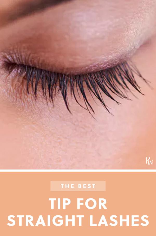 e837b5f7f5f The One Step That's Crucial If You Have Straight Lashes #purewow #beauty  #eyes #bundle #mascara