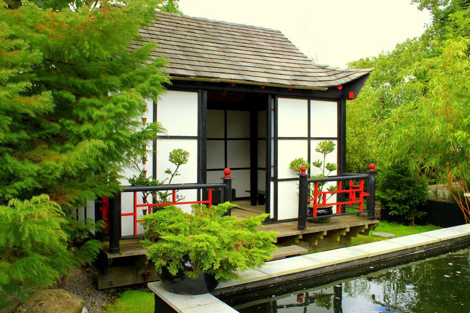 Japanese+Garden+Tea+House Japanese Garden La Vie en