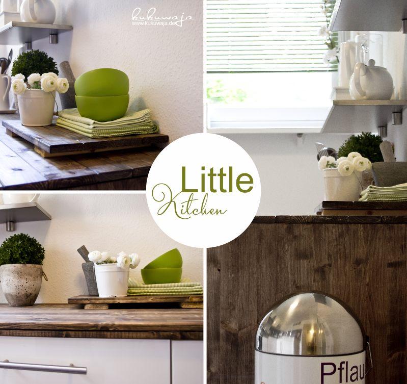 DIY Working Space Kitchen - DIY Arbeitsplatte / Korpus Küche