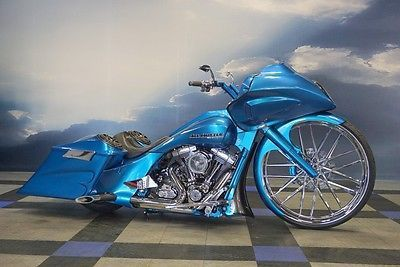 eBay: 2012 Harley-Davidson Touring **30 INCH WHEEL**12 HD ROAD GLIDE~ONE OF  A KIND CUSTOM~AIR RIDE~BIG WHEEL BAGGER #harleydavidson - EBay: 2012 Harley-Davidson Touring **30 INCH WHEEL**12 HD ROAD GLIDE