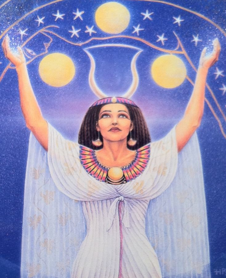 Nut Goddess Of Mystery By Ravneet Vohra