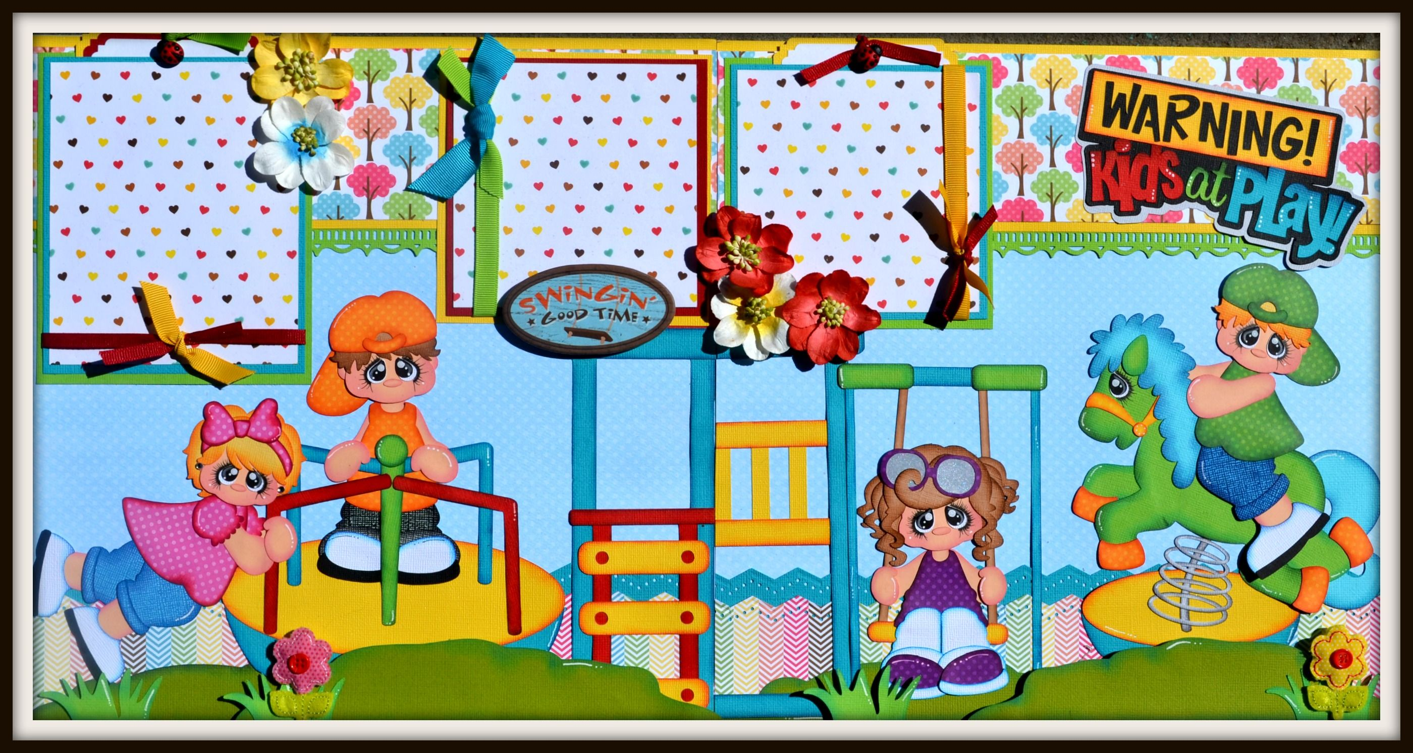 My Newest Layout using Spring Rider, Merry Go Round and Swingset-DT jess http://www.ebay.com/itm/-/321751674333