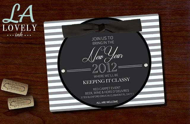New Years Eve Party Invitation | Red carpet event, Eve parties