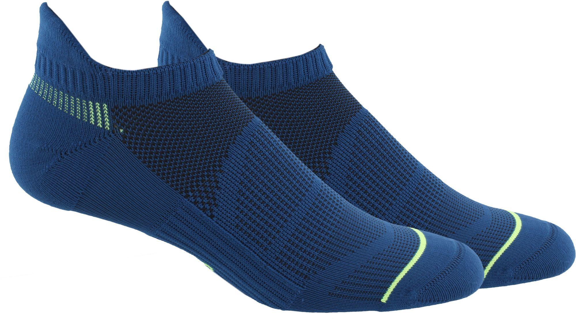 d7bddb9f021d adidas Men's Superlite Prime Mesh III Tabbed No Show Socks 2-Pack ...
