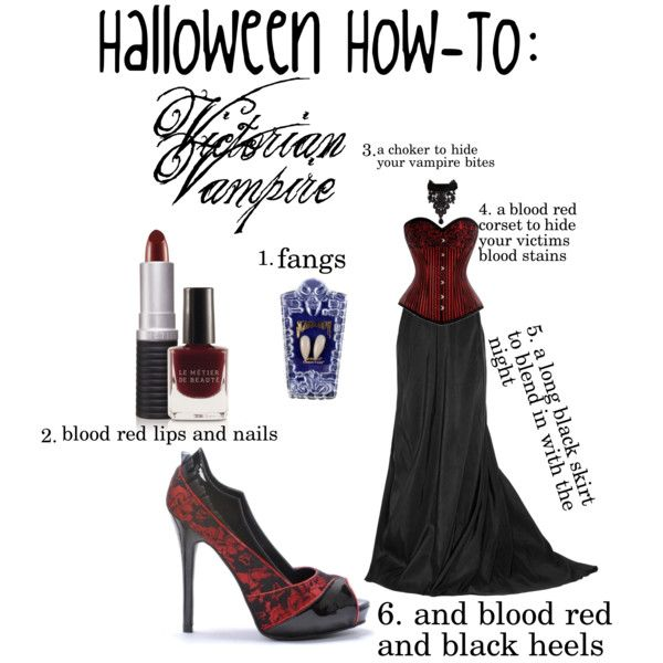 """""""Victorian Vampire"""" by jennie-tupper on Polyvore"""