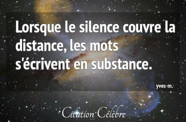Silence & Mots