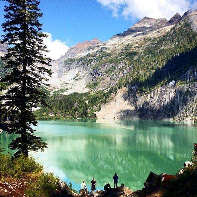 The majestic Blanca Lake in the Mt. Baker Snoqualmie National Forest  @petefedorchuk We want to share your outdoor adventures too! Use the hashtag #usoutdoor to get your photos featured on our feed. #regram  #outdoorproject #blancalake #washington #lakes #weekendwarriors
