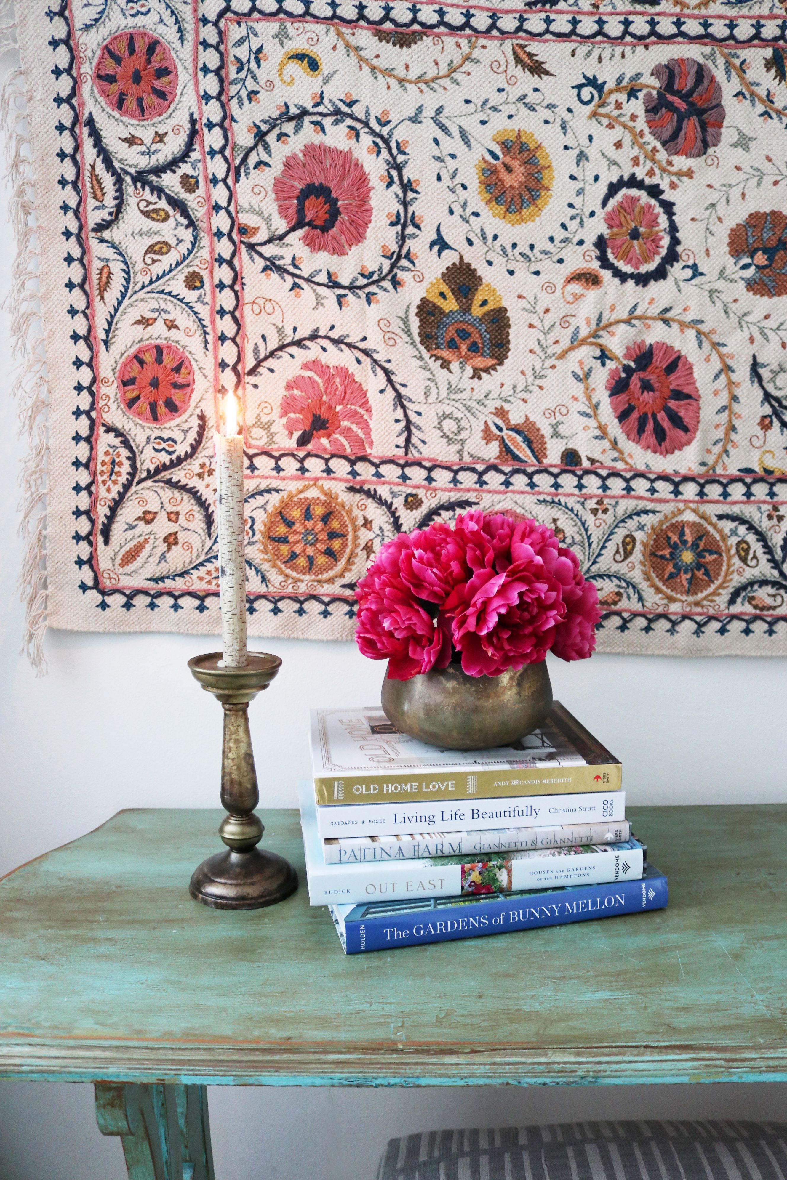 Hang a rug on a wall sparking joy the inspired room