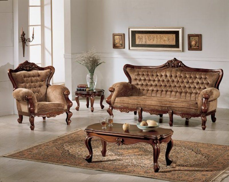 Wooden Sofa Set Designs