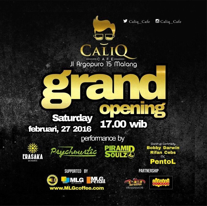 Caliq Cafe Malang Vintage & Culture