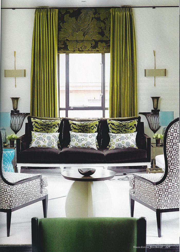 Latest Curtains Designs For Living Room: Beautiful Curtain Ideas From The Latest Issue Of Vogue