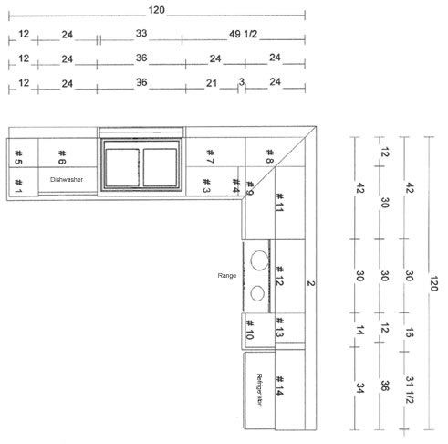 10x10 Kitchen Layouts With Images Kitchen Layout L Shape