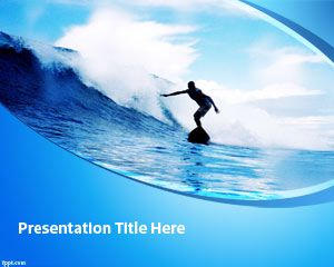Surfing Powerpoint Template Surfing Ppt Template