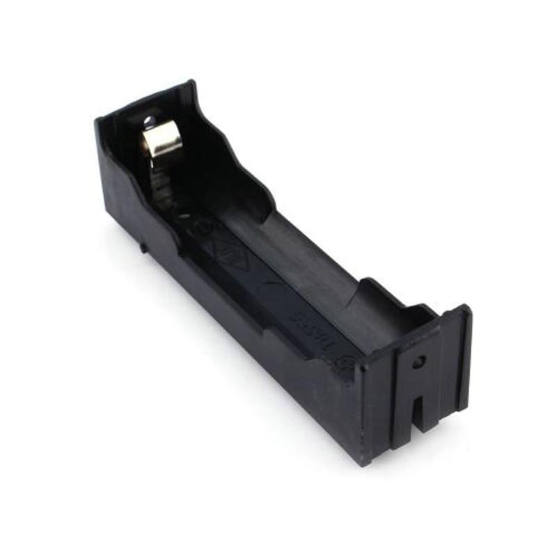 Plastic Storage 18650 Li Ion Battery Case Clip Holder Contact Black 3 7v 14 8v Battery Storage Boxes With Pin 18650 Battery Battery Storage Power Bank Case Battery Holder