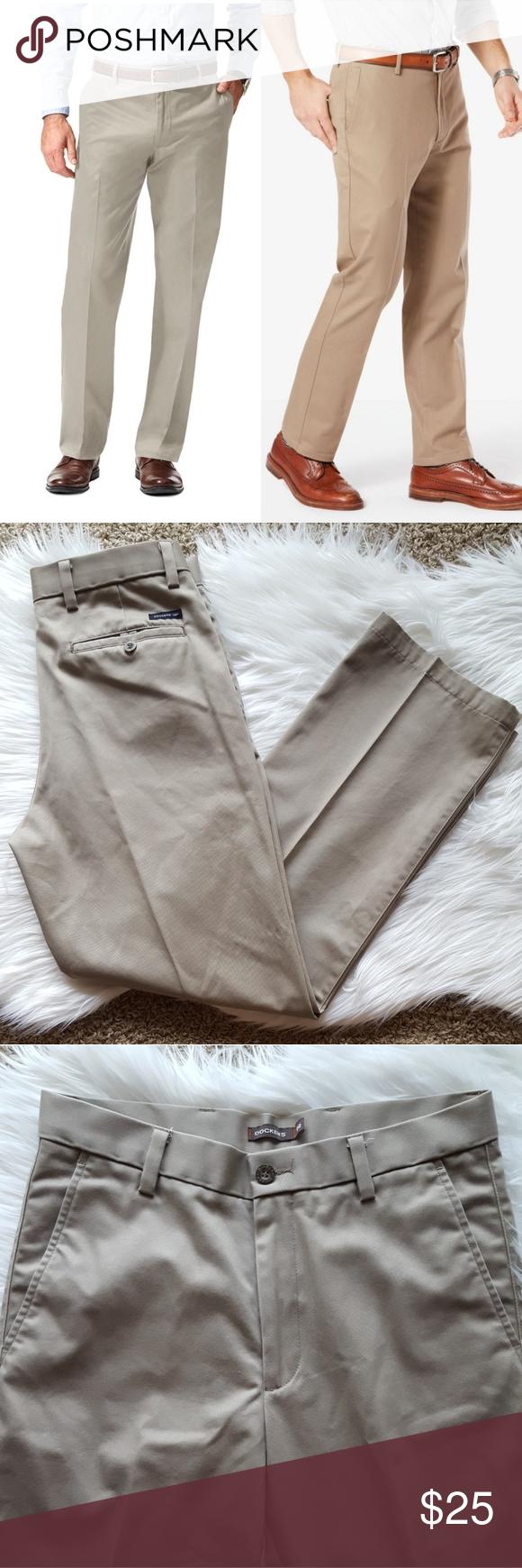 Left Photo Dockers D2 Pants Straight Leg Pants D2 Fit Pants From Dockers I Believe The Color Is Cloud Left In Clothes Design Fashion Design Dockers Pants