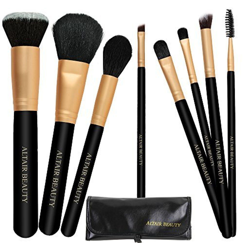 Make Up Brushes Set (On SALE) Best 8pcs PRO Makeup Brush