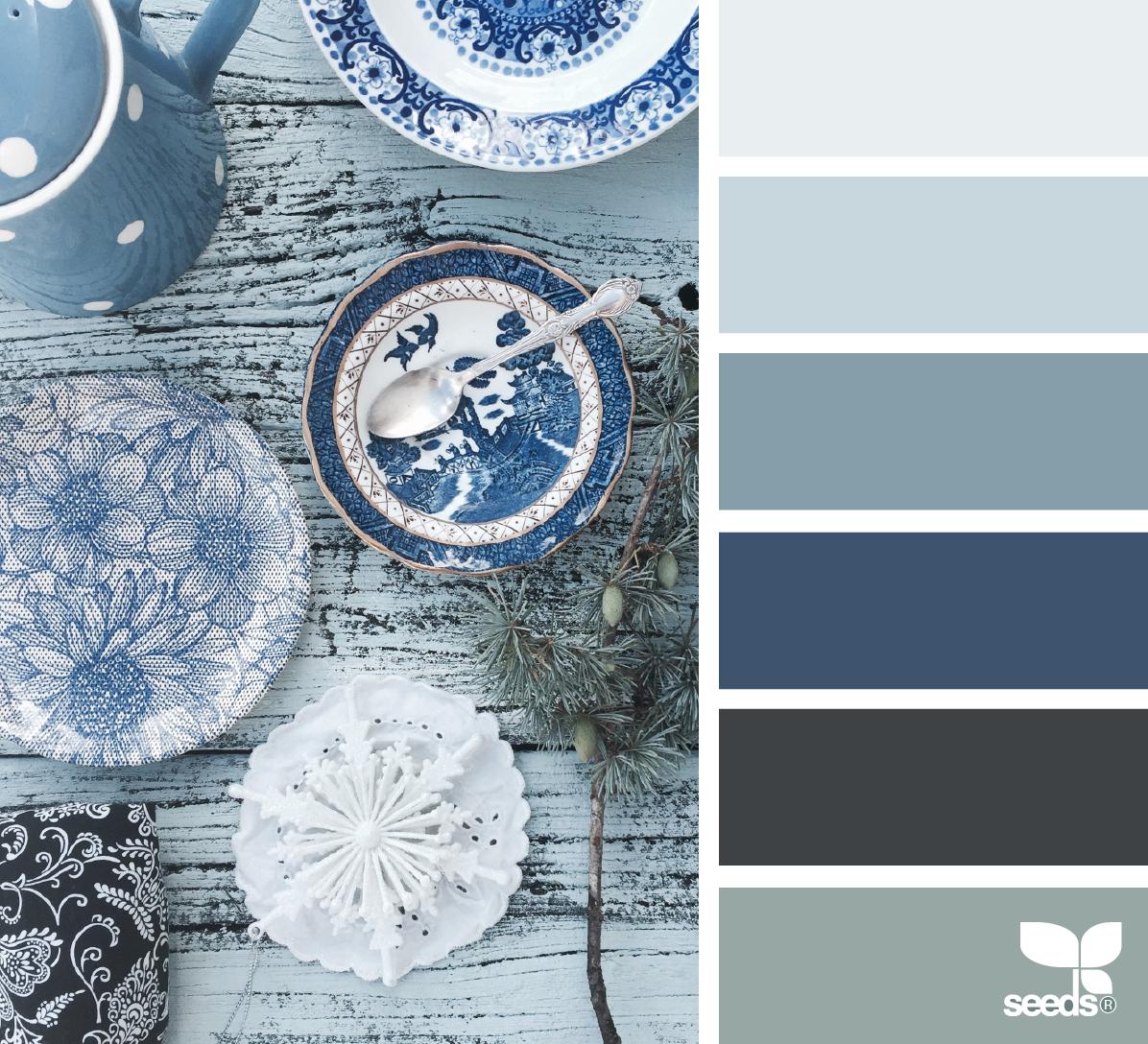 Color Blues | Farben, Farbkombinationen und Farbpaletten