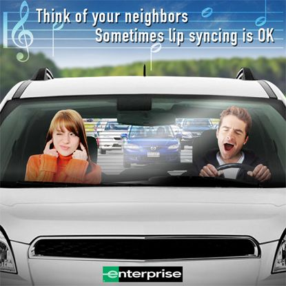 Sometimes Lip Syncing Is Ok Enterprise Rent A Car Lips Lip Sync