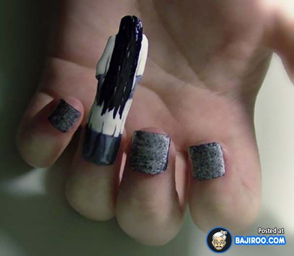 16 Types Of Amazing If Impractical Pop Culture Nail Art Beauty