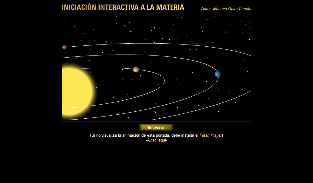 iniciacin interactiva la materia httpconcursocnicemeces - Tabla Periodica Interactiva Cnice