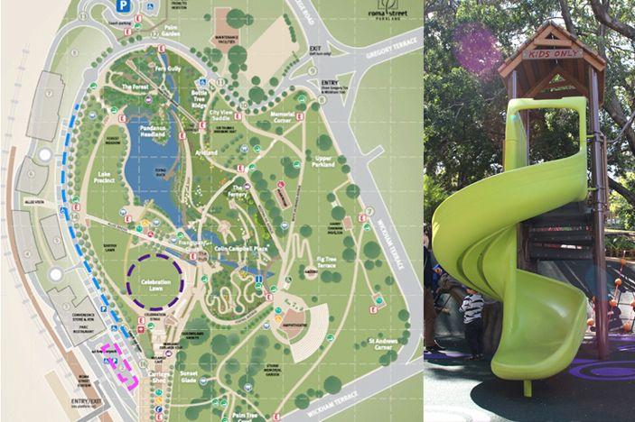 Roma Street Parklands Map Roma Street Parkland Map | Favorite Places & Spaces | Brisbane  Roma Street Parklands Map