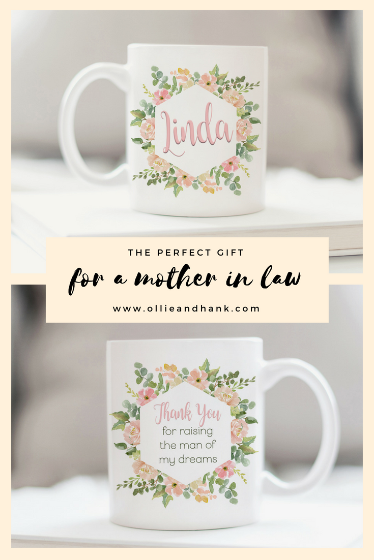 This Personalized Mother In Law Mug Is The Perfect Birthday Gift Christmas Or Of Groom To Express