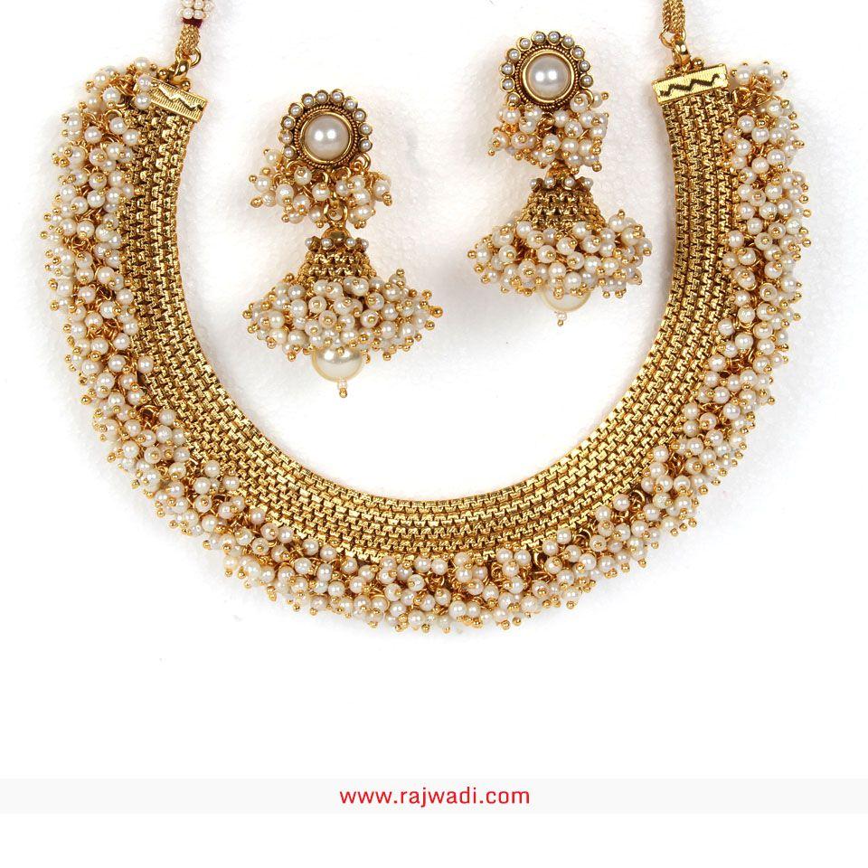 Designer Necklaces #Rajwadi #DesignerNecklaces #RoyalJewellery ...