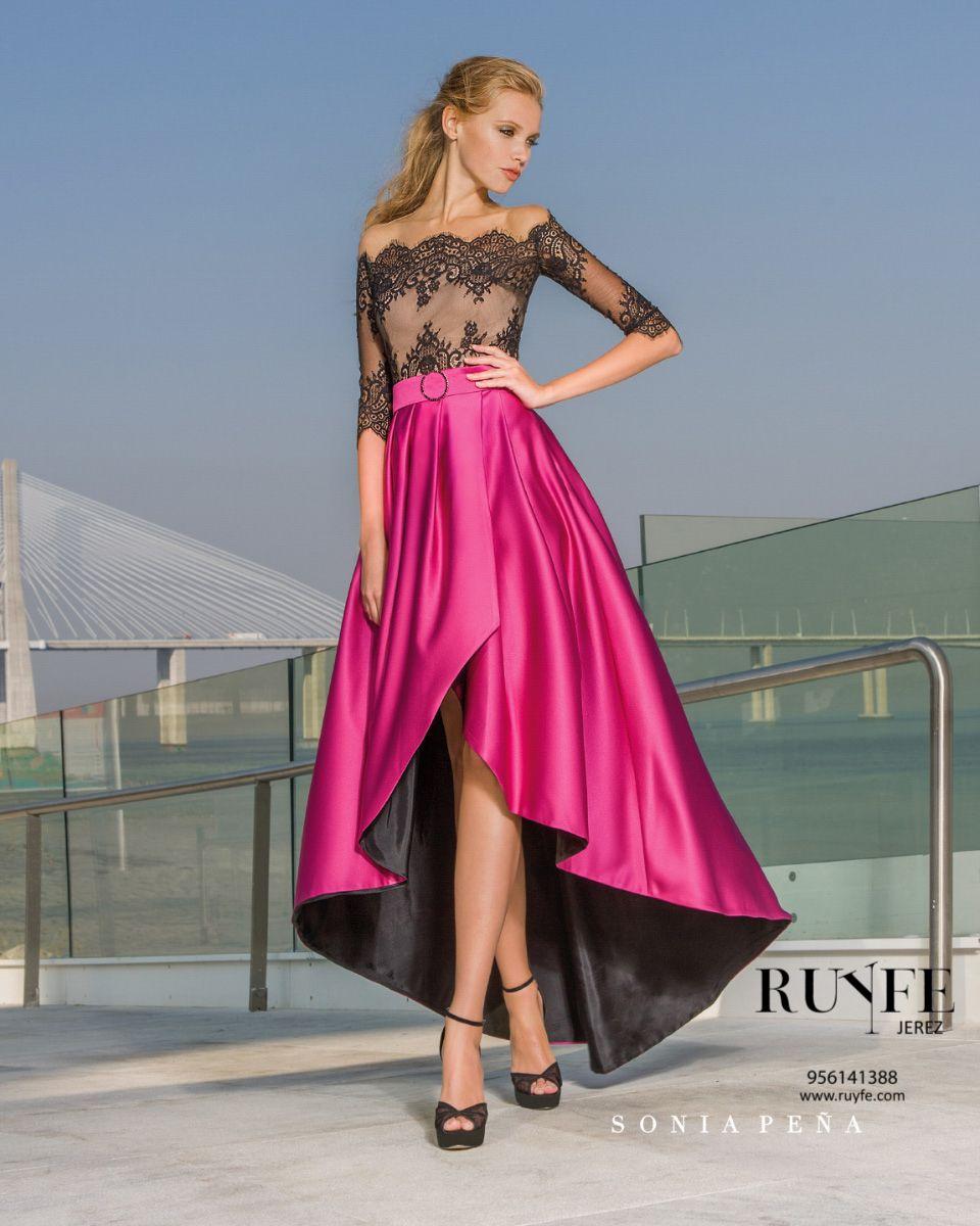 Ruyfe   Vestidos de Fiesta   2.-Sonia Peña     Vestido   Pinterest ...