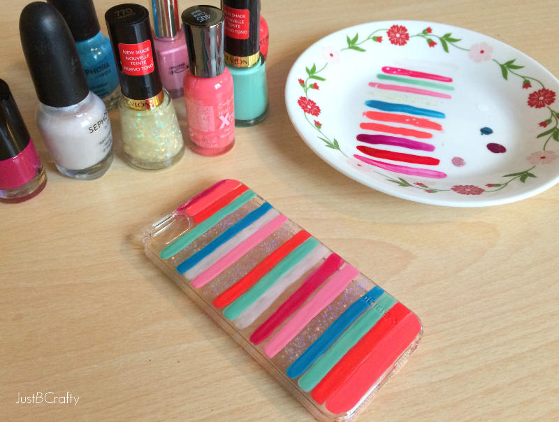 DIY Painted iPhone 5s Case | Diy phone case, Craft fairs and Craft