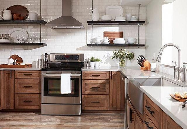 Best What Do You Think Of This Kitchen Without Upper Cabinets 400 x 300