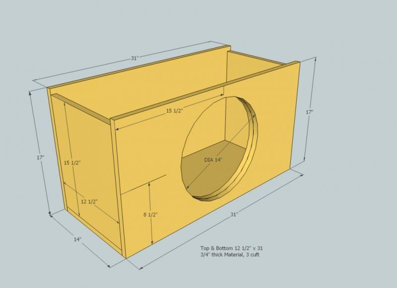 14490 3cf Sealed 3 5cf Ported Box 15 Inch Subwoofer Simag15sealed Jpg 800 580 Ported Box Subwoofer Car Audio