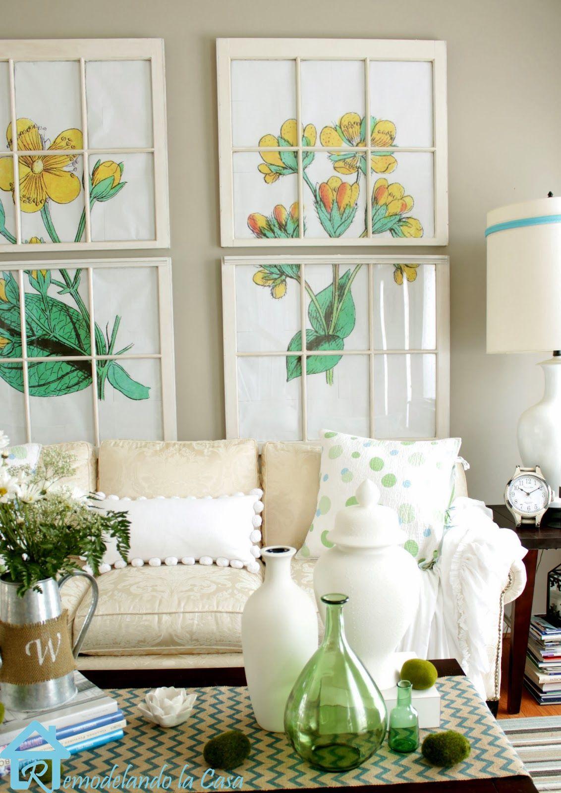 Home decor window  home decor ideas  decorating window and walls