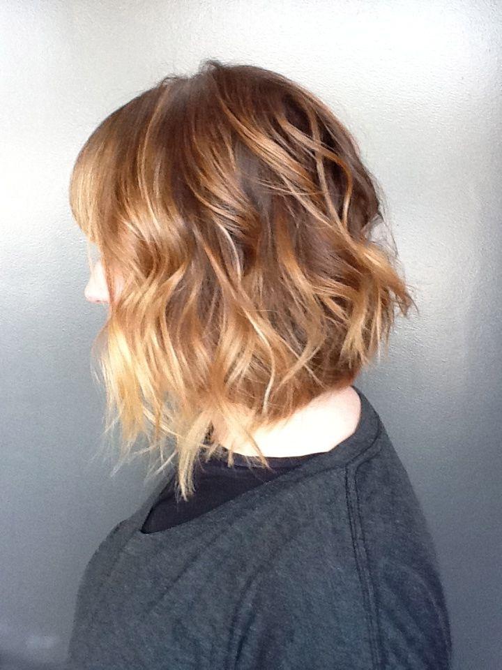 A Line Beachy Bob Haircut By Alissa Tietgen Hairstyles