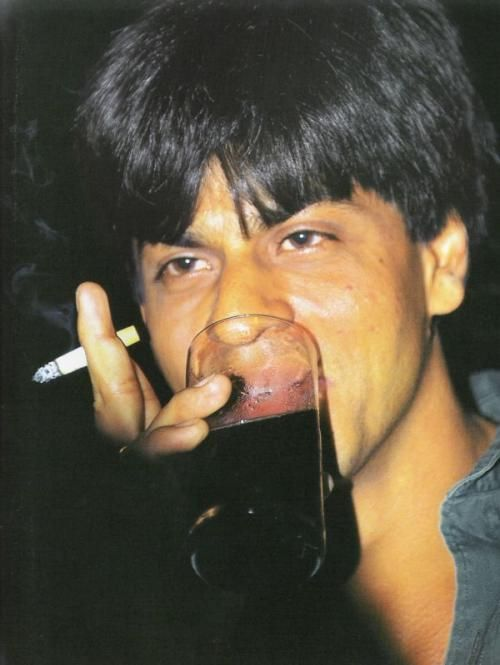 Image result for shahrukh smoking