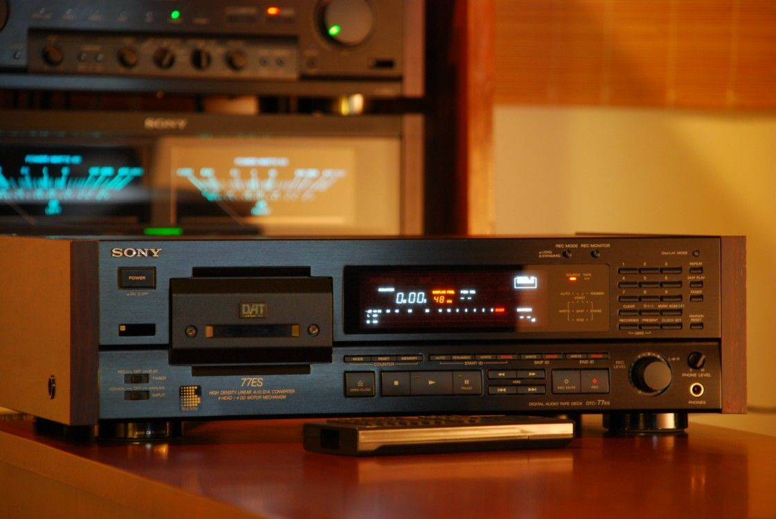 Sony Dtc 77es Dat Vintage Technology And Design Hifi