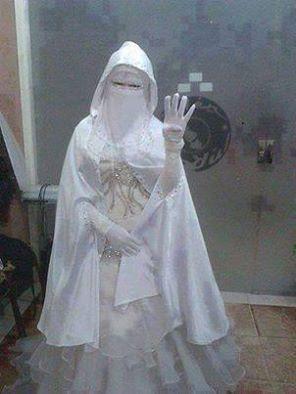 Niqab Wedding Dress