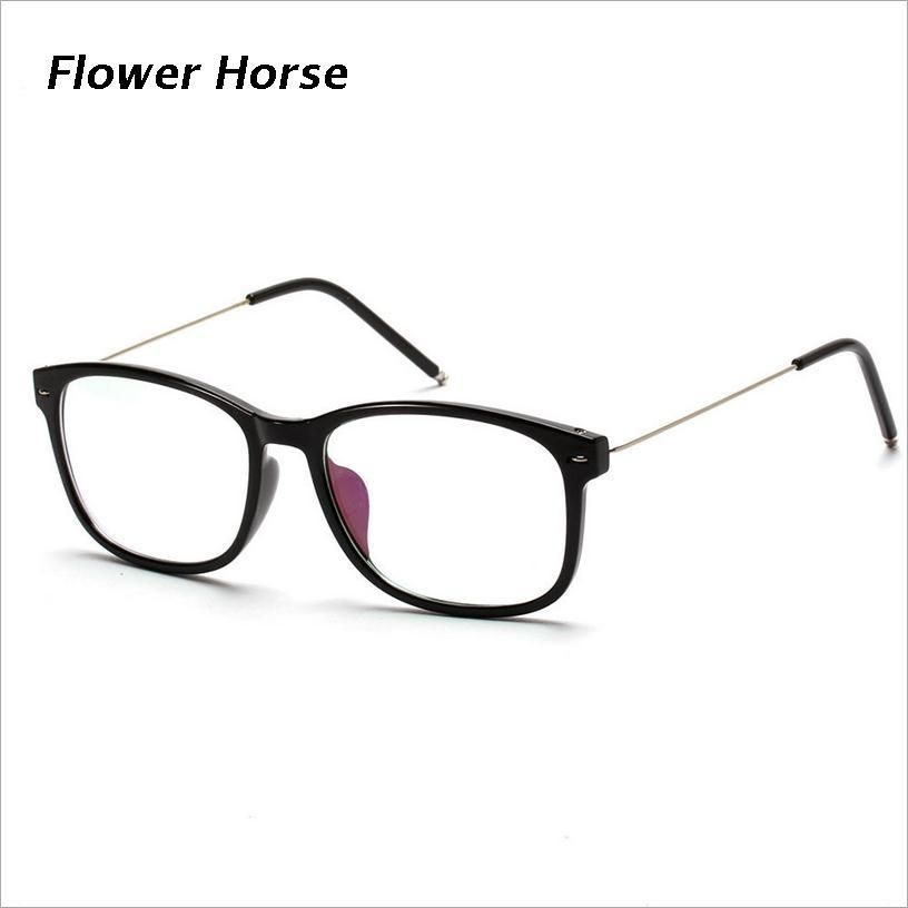 FlowerHorse Brand Design Squre Style Thin legs Myopic Glasses Frames ...