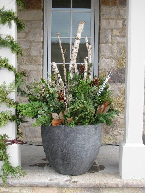80 Winter Garden Decoration Ideas #wintergardening