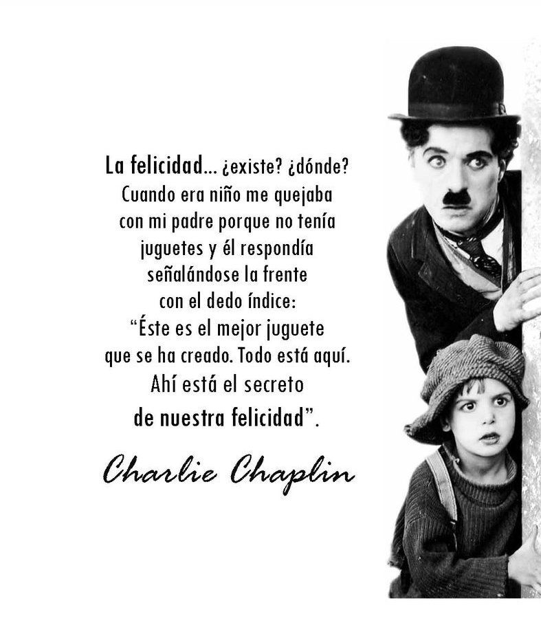 Charles Chaplin Frases Inspiradoras Frases De Chaplin