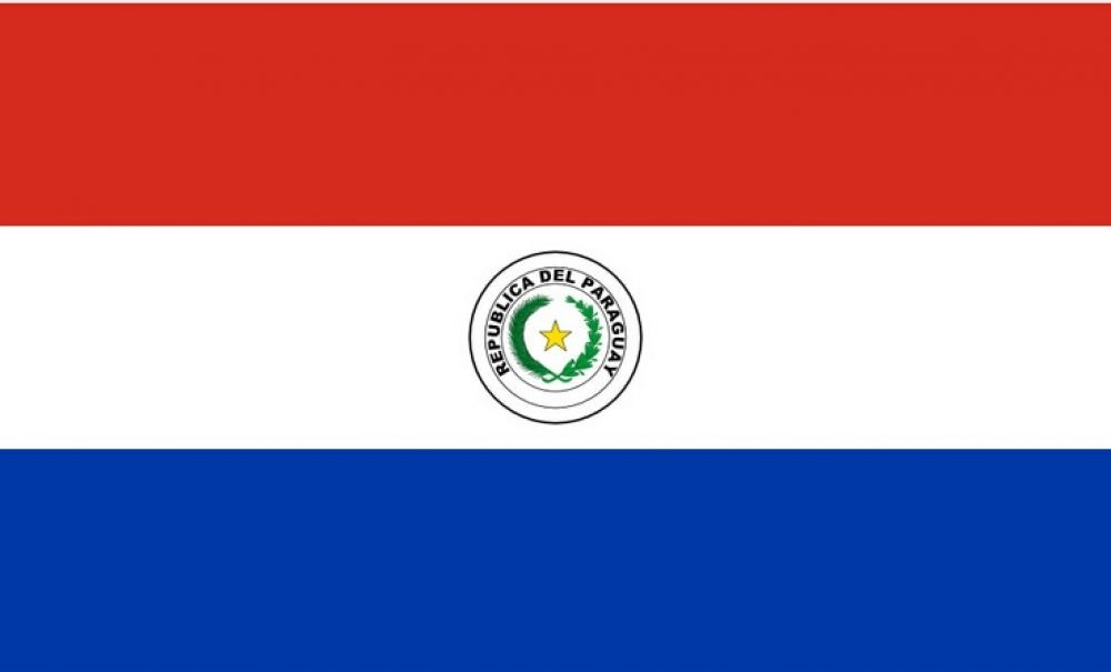 Double Sided Paraguay National Flag Football Bomb In 2020 National Flag Football National Flag Flag Football