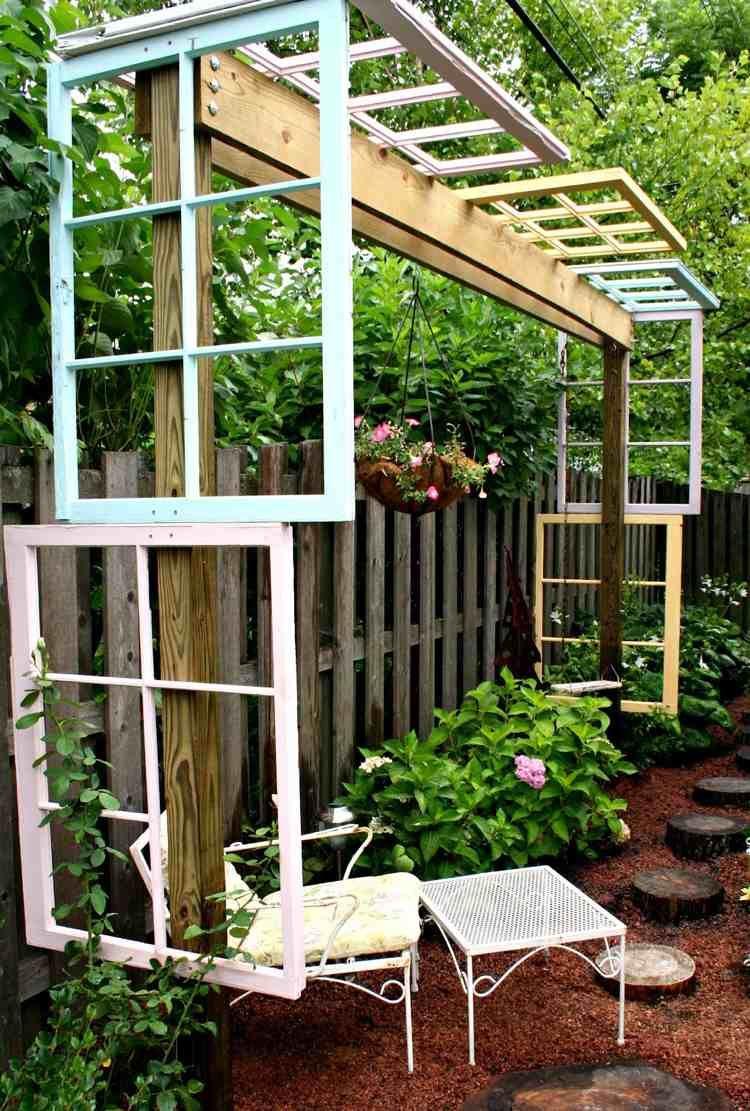 Deco Jardin Original | Idee Deco Palette Jardin Chic Idee Palette ...