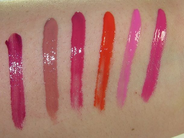 Urban Decay Revolution High-Color Lipgloss Review & Swatches ...