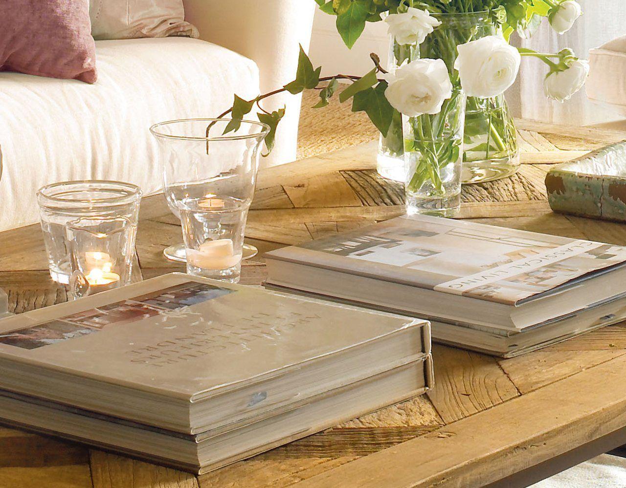 Ideas y consejos para decorar la mesa de centro · ElMueble.com · Salones