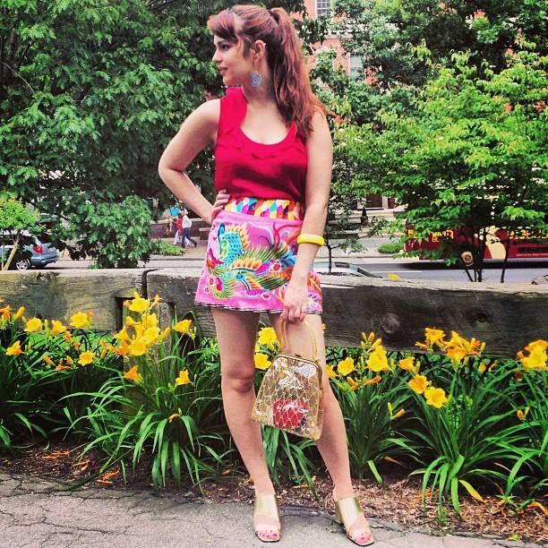 Dragon Lady - Andrew Gn mini skirt