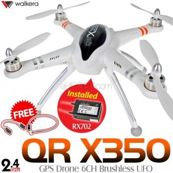 WALKERA QR X350 GPS Drone 6CH Brushless UFO with RX-702
