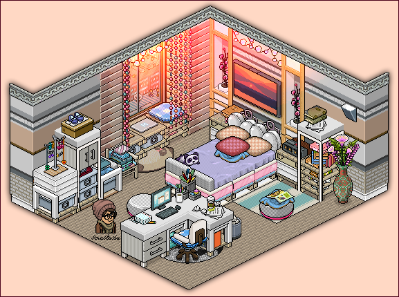 Apartment bedroom for girls by on for Apartment 412 rpg maker
