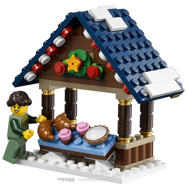 10235 Winter Village Market Toyslegoplaymobil Pinterest Lego